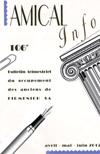 Amical Info page titre